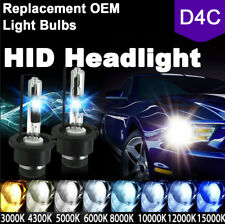 2x D4S D4R D4C Lamp HID Xenon Headlight Replace for Philips OSRAM Bulbs 5K 6K 8K