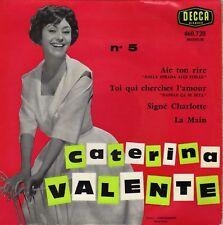 CATERINA VALENTE AÏE TON RIRE FRENCH ORIG EP JO BOYER