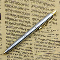 High Quality New BAOER 37 stainless steel Push Ball Point Pen Hot