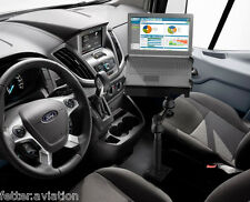 RAM No-Drill Laptop Mount for 2014-2018 Ford Transit Full Size Vans