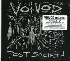 VOIVOD POST SOCIETY (EP) CD DIGIPACK NUOVO SIGILLATO !!