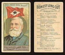 """1887 N127 Duke Sea Captains """"Samuel Brooks"""" GOOD **AA-7767**"""