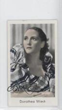 1934 Caid Beruhmter Filmkunstler Tobacco Base #107 Dorothea Wieck Card 1s8