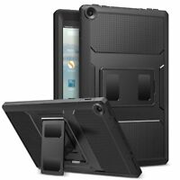 MoKo 100% Shockproof Full Body Rugged Cover Case for Amazon Fire HD 10 7th 2017