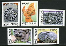 Viet Nam 2748-2752 imperf., MNH. Sculptures from Ly Dynasty, 1997