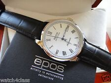 EPOS Originale automatic mechanical see-thru self-winding 3426 ETA2824 watch men