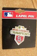 2011 St. Louis Cardinals. World Series Champions pin WS W.S.