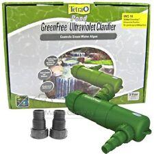 NEW TETRA POND 18 WATT UV CLARIFIER GREEN FREE UVC 18 MODEL 19521 PLUS ADAPTERS