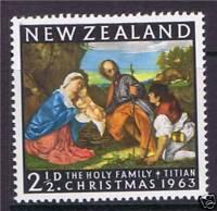 New Zealand 1963 Christmas SG817 MNH