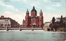 Germany AK München Munchen - St. Lukaskirche old unused postcard