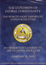 Explosion of Global Christianity - NEW DVD Pat Robertson National Press Club