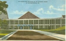 Elizabethtown,Pennsylvani a Masonic Home Recreation Bldg.(Mas40*)