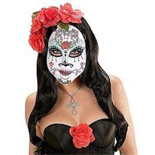 Maschere bianchi plastici per carnevale e teatro prodotta in Italia