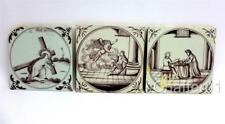 More details for george ii 18th century english delftware tiles with biblical scenes c1730s