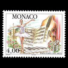 Monaco 1998 - 15th Spring Arts Festival Dance Music Ballet - Sc 2071 MNH