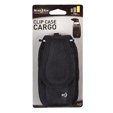 Nite Ize Clip Case Cargo Holster Black Tall Rugged Nylon Universal Phone Case