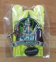 Disneyland Paris DLP Evil Queen & Dr. Facilier Pass Annuel Villains Pin LE700