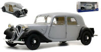 Model Car vintage diecast solido Citroen Traction 11B Scale 1:18 Miniatures