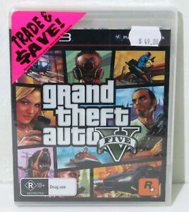 *Brand New & Sealed* GTA V for Playstation 3 PS3 Grand Theft Auto - Free Postage