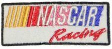 "2 NASCAR Racing Logo Emblem Iron on or Sew Patch Applique Small 2.5"" Stock Car"