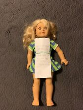 American Girl Doll Lanie Holland With Book. Sorry No Head Band W/ GUITAR SHOES