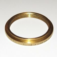 SOLID BRASS UNO RING FOR UNO THREADED SOCKETS LAMP PART NEW 40295JB