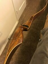 Vintage Red Wing Hunter Recurve Bow Rh 58in 50# Head Ski Corp Pre Amf