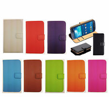 Luxury Genuine Real Leather Wallet Case Cover for Samsung Galaxy Note 2 II N7100