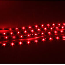 4pcs 30cm Waterproof 15 Red LED 12V Car Truck Motor boat Flexible Strip Lights