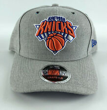 New York Knicks Baseball Snapback Hat New Era 9Fifty Original Fit Gray Blue