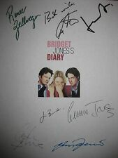 Bridget Jones's Diary Signed Script Renee Zellweger Colin Firth Hugh Grant repnt