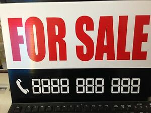 A3 FOR SALE sign