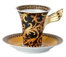 """VERSACE BY ROSENTHAL, GERMANY  """"BAROCCO"""" COFFEE CUP AND SAUCER. STUNNING!"""