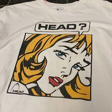vintage 90s Head Roy Lichtenstein T Shirt XL Pervert Art