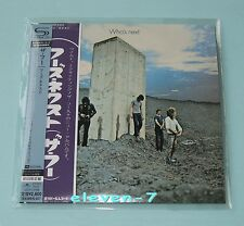 THE WHO who's Next Japon MINI LP CD SHM HR Cutting Remastered