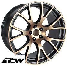 "20 inch 20x9"" 20x10"" Challenger SRT Hellcat OE Replica Black Bronze Wheels Rims"