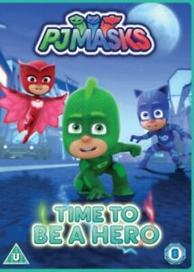 Pj Masks - Time To Be A Hero [DVD] [2017] DVD *NEW & SEALED*