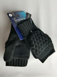 Isotoner Signature Women's Flip Mittens With Faux-Sherpa Lining 1 Size