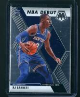 2019-20 Mosaic RJ BARRETT ROOKIE CARD #270 NBA DEBUT NY Knicks RC🔥