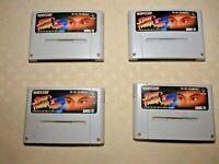 Street Fighter II 2 Turbo SNES SFC Nintendo Super Famicom game 4 software Japan