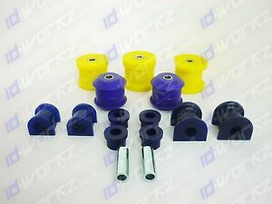 Toyota Starlet EP82 GT Turbo Full Poly Suspension Bushes Powerflex SuperPro