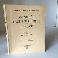 Congresso Archeologico Di Francia 126e Session 1968 Di Alta Bretagna