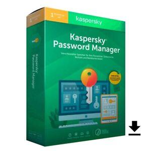 Kaspersky Password Manager 1Nutzer/unlimited Geräte immer aktuell für 1 Jahr ESD
