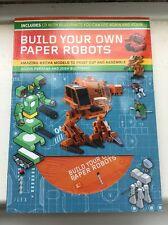 Build Your Own Paper Robots, Good Condition Book, Buczynski, Josh, Perdana, Juli