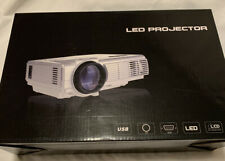 XINDA HD MULTIMEDIA LED PROJECTOR White BRAND NEW IN BOX