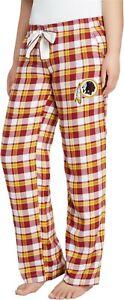 Washington Redskins NFL Women's Piedmont Flannel Lounge Pants