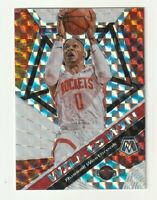 2019-20 Panini Mosaic Prizm SILVER Russell Westbrook Will to Win Rockets #10