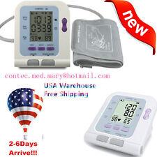 US FDA Digital Blood Pressure Monitor Sphygmomanometer CONTEC08C + Free Software