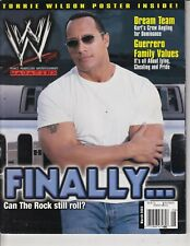 March 2003 WWE Magazine The Rock ,Sexy Torrie Wilson Poster