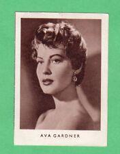 1952  Ava Gardner  German  Film Star Card  Rare